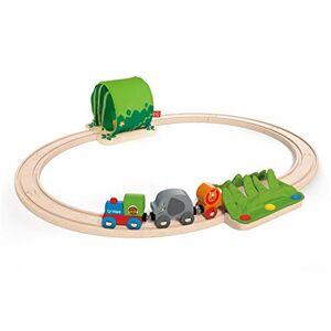 Hape E3800 Circuit de Train en Bois Coffret voyage dans la Jungle - Publicité