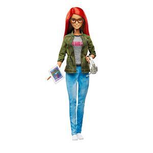 Barbie Poupée Mannequin, DMC33 - Publicité