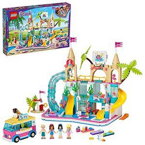 Lego Friends 41430 Le Parc Aquatique Plaisirs d'été avec Mini Poupées Emma & Olivia, Jouet pour Filles et Garons de 8 Ans et Plus - Publicité