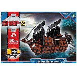 SnapX 4158 Jeu de Construction  Bateau Pirates - Publicité