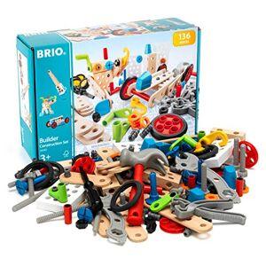 Brio Builder 34587 Coffret Evolution Builder 136 pices Jeu de construction STEM Sans pile Créations libres ou guidées Pour garcons et filles ds 3 ans - Publicité
