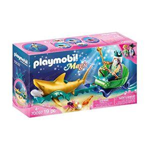 Playmobil Roi des Mers avec Calche Royale 70097 - Publicité
