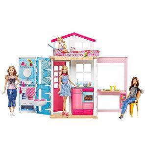 Barbie . Dwupoziomowy domek z lalk - Publicité