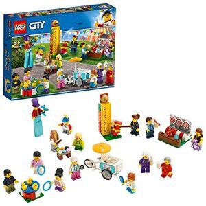 Lego -City Ensemble de figurines La fte foraine Enfant 5 Ans et Plus, Jouet de Construction, 183 Pices 60234 - Publicité