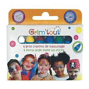 Grim'tout - OZ International 6 Crayons de maquillage Taille Unique - Publicité
