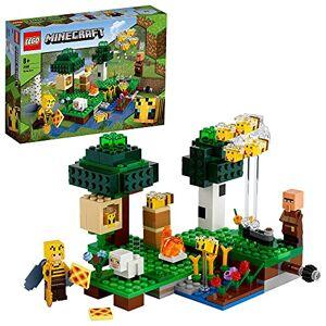 Lego 21165 Minecraft La Ruche, Set de Construction avec Figurines d'apiculteur et de Mouton, Jouets 8 pour garons et Filles - Publicité