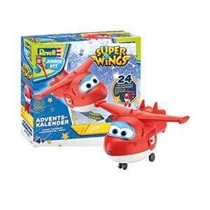 Revell 01024 Super Wings Jett Calendrier de l'Avent Rouge 20 cm, 1024 - Publicité