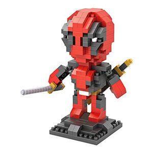 Sanzo Deadpool Marvel's super-héros_Loz NanoBlocks Micro Diamant DIY Jouet Educatif - Publicité