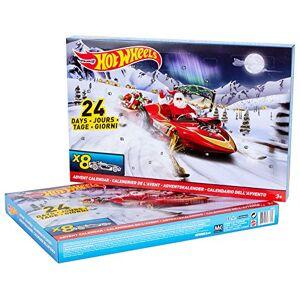 Mattel Calendrier de l'avent Hot Wheels re:dmh52 - Publicité