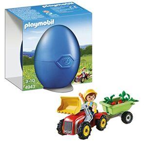 Playmobil 4943 Oeuf de Pques Garon avec Petit Tracteur - Publicité