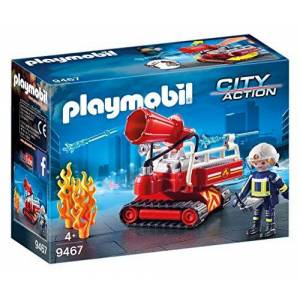 Playmobil Pompier avec Robot d'Intervention 9467 - Publicité