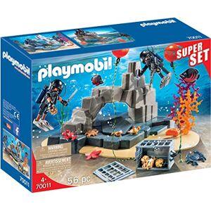 Playmobil Superset Unité de Plongée Sous-Marine 70011 - Publicité