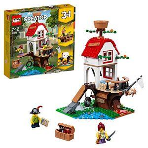 Lego -Les trésors de la cabane dans l'arbre Creator Jeux de Construction, 31078, Multicolore - Publicité