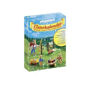Playmobil 4169 Calendrier De L'avent Calendrier De Pâques Lapins - Publicité