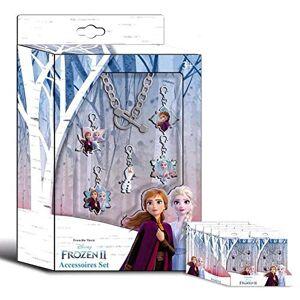 Disney La Reine des Neiges Lot de 2bijoux et kit de maquillage pour enfants Multicolore - Publicité