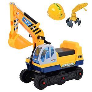 deAO Véhicule Excavatrice Trotteur Camion du Construction 2in1 Trotteur D'équilibre pour Bébé - Publicité