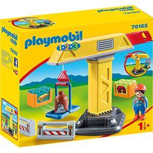 Playmobil Grue de Chantier 70165 - Publicité