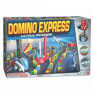 Goliath Domino Express Ultra Power Jeu de construction 81009.004 - Publicité