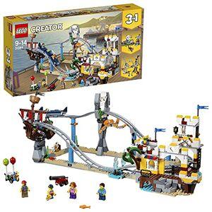 Lego Creator Les montagnes russes des pirates 31084 Jeu de Construction - Publicité