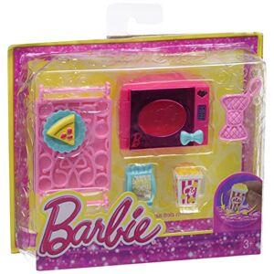 Barbie Mini Accessoire Maison Glam Kit microondes - Publicité