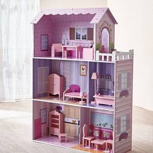 Teamson Kids Fantaisie Manoir De Fantaisie Maison de Poupées Multicolore - Publicité