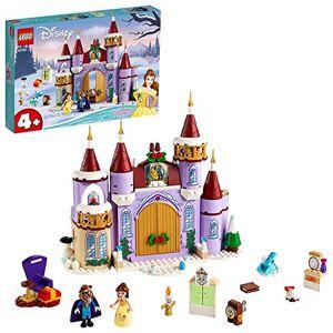 Lego -La fte d'hiver dans Le chteau de Belle Disney Princess Jeux de Construction, 43180, Multicolore - Publicité
