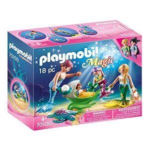 Playmobil Famille de Sirnes 70100 - Publicité
