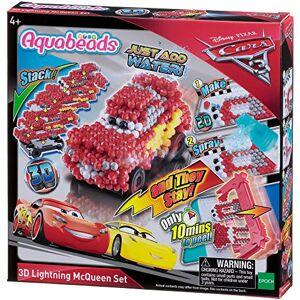 Aquabeads - Coffret Cars 3 Flash McQueen Pixar Loisirs créatifs, 30198, Multicolore - Publicité