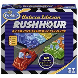 Think Fun Ravensburger 76305Thinkfun Rush Hour Deluxe Jeu Jeu en langue allemande - Publicité