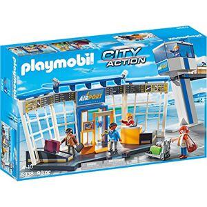 Playmobil 5338 Jeu Aéroport avec Tour de Contrle - Publicité