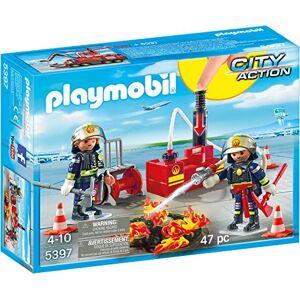 Playmobil 5397 Pompiers + Matériel D'Incendie - Publicité