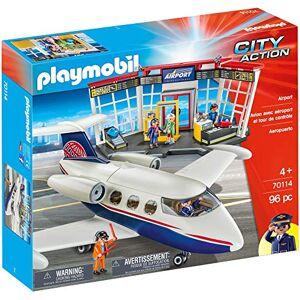Playmobil 70114 aéroport 96PC City Action - Publicité
