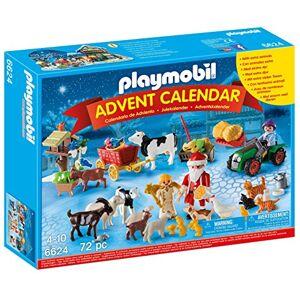 Playmobil 6624 Calendrier de l'Avent ''Père Noël à la ferme'' - Publicité