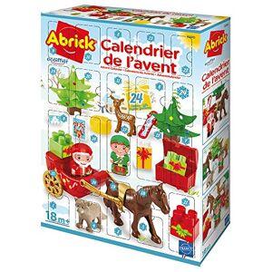 Ecoiffier Jouets - Abrick-Calendrier de l'Avent-Thme Village du Pre Nol-Ds 18 Mois-Fabriqué en France, 3280 - Publicité