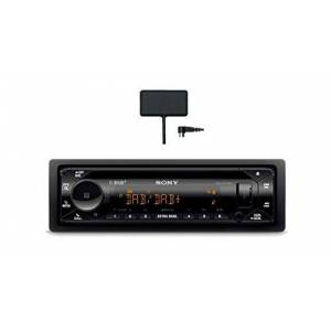 Sony MEX-N7300KIT Autoradio CD, Réception Dab/Dab+, antenne Dab Incluse, Microphone Externe, Illuminaz. 35 000 Couleurs, contrle Vocal Siri Eyes Free et Android, NFC, Dual Bluetooth, USB - Publicité