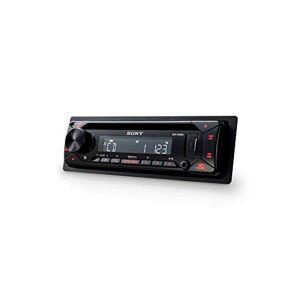 Sony CDX-G1300U Noir 220 W Récepteurs multimédias de Voiture (Noir, 1 DIN, 220 W, 4.1 canaux, 55 W, CD) - Publicité