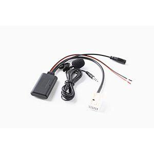Shine123 Adaptateur Bluetooth Mains Libres pour Peugeot 307 407 508 Citroen C5 C6 RD4 Blaupunkt VDO Bosch Radio AUX sans Fil Parlant Musique Streaming Récepteur o - Publicité