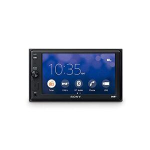 "Sony XAV-AX1005DB cran 2DIN, récepteur Dab/Dab+, écran 6,4"", Apple CarPlay, contrle Vocal, Bluetooth, Microphone Externe Inclus, 4 x 55 W, USB iPhone/iPod - Publicité"