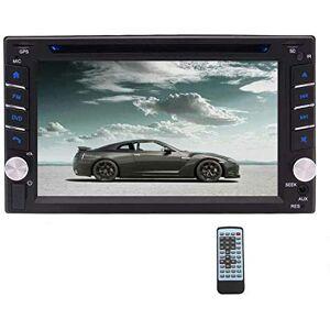 EINCAR Autoradio Double Din Lecteur CD stéréo DVD  écran Tactile de 6,2 Pouces avec unité de tte de Navigation GPS Bluetooth 2 Din Supoort SD/USB/AM/FM/RDS/AUX Commande au Volant - Publicité