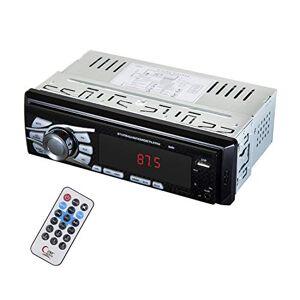 ZOSHING Autoradio Bluetooth 12-24V Autoradio 1 Din 4x50W,Support FM/USB/TF/AUX in/Bluetooth/Télécommande - Publicité