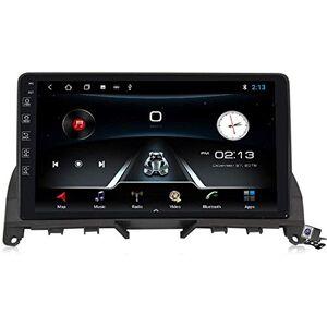 RLIRLI Android 9.1 Car Navigation GPS Radio-Benz C-Class W204 S204 2006-2011 3 Support d'écran Tactile de 9 Pouces WiFi Le FM RDS/DSP MP5 / BT Commande au Volant,4 Core,4G + WiFi, 1 + 16 Go - Publicité