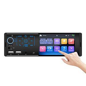 Alondy autoradio MP5 Lecteur stéréo 1 Din 4,1 Pouces  écran Tactile Double USB/Bluetooth/AUX/SD/FM / 1080P vidéo/Lien Miroir - Publicité