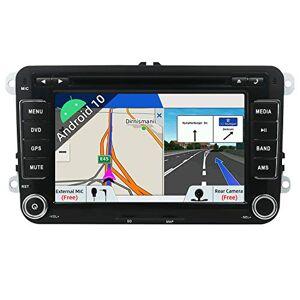 Lyon'tour JOYX Android 10 Double Din Autoradio pour VW Golf/Skoda/Seat/Passat/Polo Navigation   Caméra Canbus Microphone Gratuit   2G+32G   7 Pouce  Soutien Dab Commande au Volant WiFi BT5.0 GPS 4G Carplay USB - Publicité