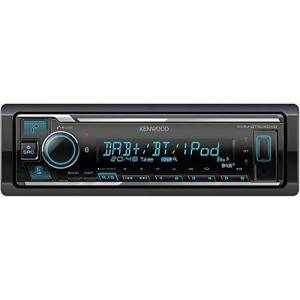 Kenwood KMM-BT505DAB Autoradio avec Bluetooth - Publicité