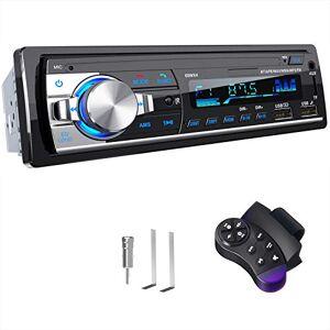 CENXINY RDS Autoradio Bluetooth Main Libre,  4 x 65W Poste Radio Voiture Bluetooth 5.0 LCD avec Horloge, Supporte USB/AUX in FM/AM/MP3/WMA/WAV/MPE/RDS Stéréo Radio Voiture - Publicité