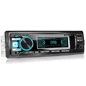 XOMAX XM-RD269 Autoradio avec Dab+ Radio I Connexion la Bluetooth et Musique I Port USB (jusqu'à 128 GB) et Fente pour Cartes SD (jusqu'à 128 GB) I FM RDS I MP3 WAV I Entrée AUX I 1DIN - Publicité