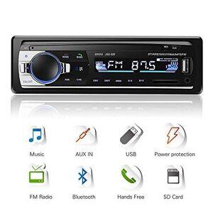 AZGIANT Autoradio Bluetooth, 4x60W Radio de Voiture stéréo FM Radio, Lecteur mp3 USB/SD/AUX Mains Libres avec télécommande - Publicité