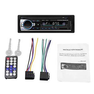 Homyl Autoradio Bluetooth FM Radio Stéréo 60W x 4, Lecteur MP3 Poste Main Libre Voiture, Support USB/SD/TF/AUX + Télécommande - Publicité