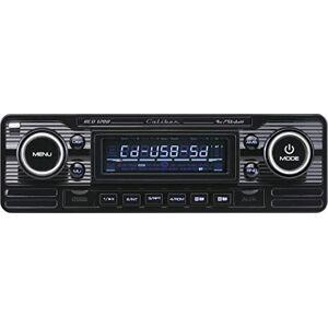 Caliber RCD120/B Radio CD/MP3/USB/SD Rétro Vintage Noir - Publicité