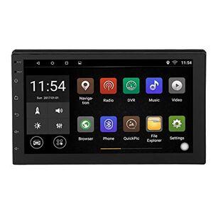 Garsent 2Din Autoradio, 7 Pouces WiFi cran Tactile Autoradio Multimédia Bluetooth Stéréo Voiture MP3 MP4 MP5 Support GPS, USB, TF, FM, Inversion, Android 8.1 Autoradio Universelle. Publicité